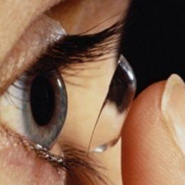 A kontaktlencse helyes viselése
